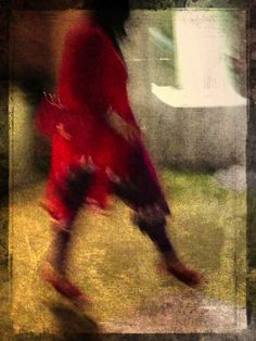 her entrance at the party/ jack barnosky