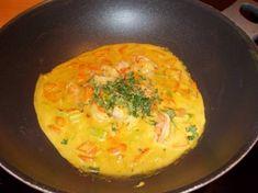 Dit was een  zgn. bordenlikker. Echt verrukkelijk! Heerlijke zacht-romige saus met groenten en de lichte smaak van de garnalen. Een aanrader als je van...