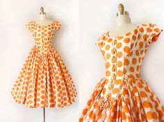 Vintage 1950s designer dress // 50s Suzy by Duchessevintage
