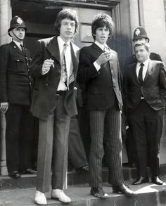 Drugs arrests, 1967 In February 1967, police raided a party at Richards's Sussex home, Redlands. No arrests were made at the time but Jagger and Richards would later be charged with drugs offences. Meanwhile, on 10 May 1967 guitarist Brian Jones was arrested for possession of cannabis after the police raided his house. In June, Jagger was sentenced to prison for three months for possession of amphetamines and Keith Richards was sentenced to a year's imprisonment for allowing the smoking of canna