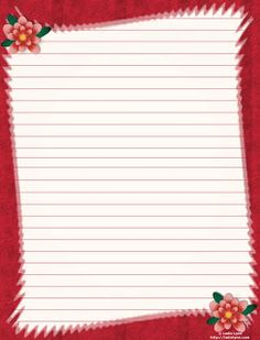Tita Carré Agulha e Tricot : Papel de carta Printable Lined Paper, Free Printable Stationery, Baby Gift Wrapping, Certificate Of Achievement Template, Cute Journals, Cute Stationary, Framed Wallpaper, Floral Letters, Journal Paper
