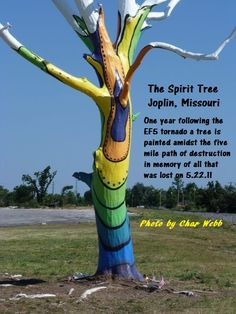 The Spirit Tree - Joplin, MO.