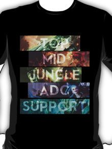 League Of Legends - Team Work T-Shirt
