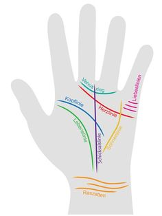 Handlesen: Das bedeuten die Hand-Linien Palm reading: how it works!Palm reading is not that complica Hand Lines Meaning, Yen Yang, Healthy Holistic Living, Body Map, Palm Reading, Chakra Meditation, Palmistry, Good To Know, Venus