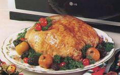 Pechuga de pavo marinada para la navidad   recetariosenlinea