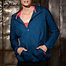 The Heidi Klum for New Balance Windcheater Anorak is a bright running jacket in vivid color. Featuring a longer length zipper for extra ventilation at center front and an oversized hood, this jacket gives you room to breathe while running or exercising in the outdoors. A roomy kangaroo pocket can hold all of your essentials, and the reflective logo and signature graphic add safety when running at night.