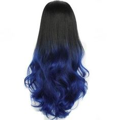 GearBest - Gearbest Long Capless Fluffy Wave Synthetic Half Wig - AdoreWe.com