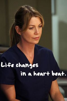"11 ""Grey's Anatomy"" Quotes That Will Shatter Your Heart#.bwvrM4YAa#.bwvrM4YAa"
