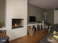 Fireplaces, New Homes, Living Room, House, Home Decor, Home, Fireplace Set, Fire Places, Decoration Home