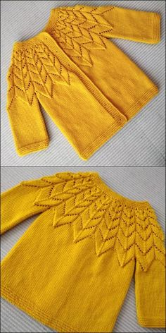 Top Favorite Crochet Patterns And Designs To Pick Now - Diy 4 Craft Crochet Sweater Design, Baby Cardigan Knitting Pattern, Baby Knitting Patterns, Crochet Designs, Knitting Designs, Baby Patterns, Crochet Patterns, Stitch Patterns, Single Crochet Stitch