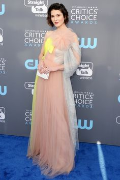 All the Gorgeous 2018 Critics' Choice Awards Red Carpet Arrivals - Mary Elizabeth Winstead  from InStyle.com