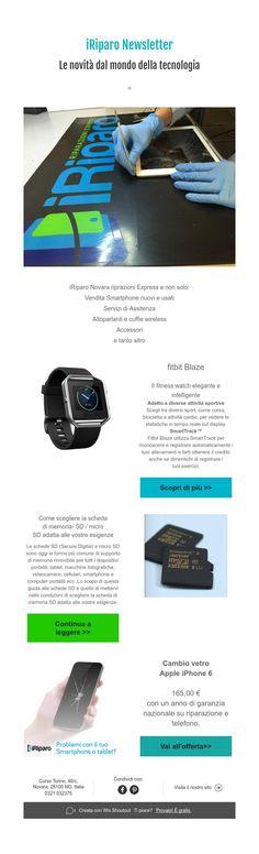 iRiparoNewsletter  Le novità dal mondo della tecnologia