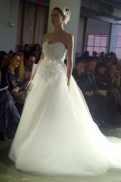 Marchesa gown - NYC fashion week 2013