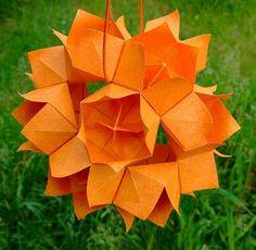 origami flower ball - blumenball | Flickr - Photo Sharing!