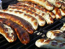 Thuringian Sausage-- or in German Thüringer Rostbratwurst (short: Roster), is a unique sausage from the German state of Thuringia which has PGI status under EU law.