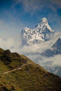 Ama Dablam, Nepal by Pawel AK