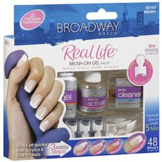 $9.47 Broadway Nails Real Life Nail Kit, 48ct