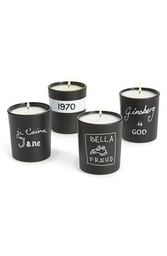 Bella Freud Mini Votive Candles (Set of 4)