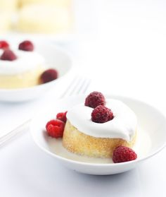 Little tres leches cakes