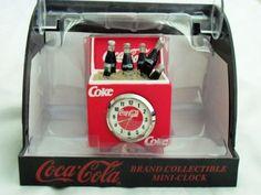 Coca Cola MINI-CLOCK ICE CHEST