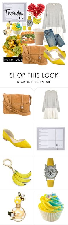 """Thursday (23/6/2016)"" by saopolyvore ❤ liked on Polyvore featuring Miu Miu, Clu, Marc Fisher LTD, Kate Spade, Olivia Pratt, Marc Jacobs and Givenchy"