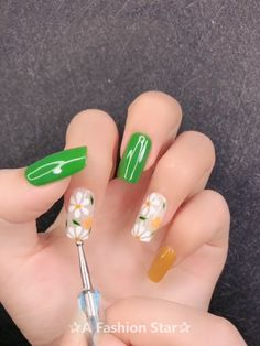 Impressive and Beautiful Nail Art for This Winter * 18 nail art designs, nail art sommer, nail art diy,. Latest Nail Art, Trendy Nail Art, Easy Nail Art, Gel Nail Art, Acrylic Nails, Nail Art Designs Videos, Nail Art Videos, Cool Nail Designs, Beachy Nail Designs