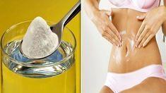 O bicarbonato de sódio elimina a gordura da barriga se prepará-lo desta maneira! Ovarian Cyst Symptoms, Hypothyroidism Diet, Vicks Vaporub, Home Remedies, Body Care, Baking Soda, Detox, Healthy Lifestyle, Health Fitness