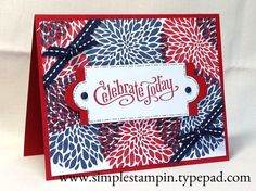 Happy 4th of July with Betsy's Blossoms! - Stampin' Up!