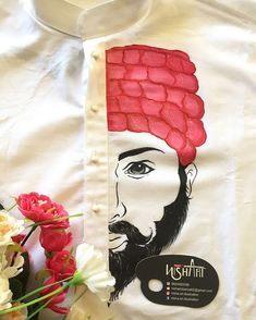 Fabric Paint Shirt, Paint Shirts, Fabric Art, Fabric Painting On Clothes, Hand Painted Sarees, Hand Painted Fabric, Dress Painting, Diy Painting, Mural Painting