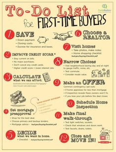 Some helpful tips for your first-time buyers. How many of these are you sharing with clients? #realestate #realtor #realtorlife
