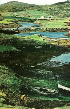 Northbay, Barra, Scotland  National Geographic | May 1970