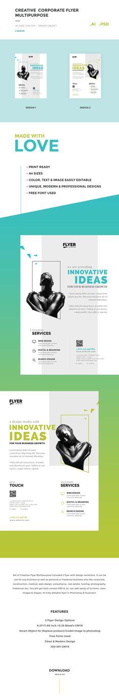 Creative / Corporate Flyer Multipurpose on Behance