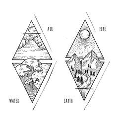tattoo ideas /tattoo design / tattoo arm / tattoo for men / tattoo for women / tatoo geometric / tattoo skull / Tattoo small / Tattoo geometric Trendy Tattoos, Tattoos For Guys, Tattoos For Women, Cool Tattoos, Basic Tattoos, Random Tattoos, Retro Tattoos, Element Tattoo, Arm Tattoos