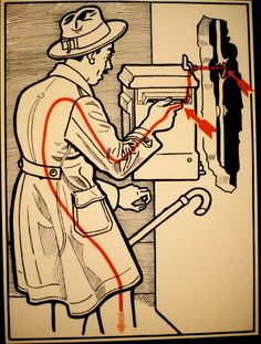 A Helpful 1930's Guide On How To Avoid Electrocuting Yourself