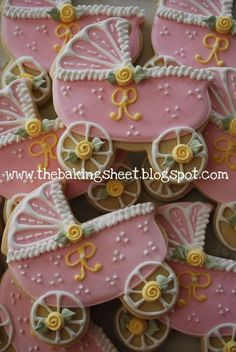 Baby Carriage Cookies!
