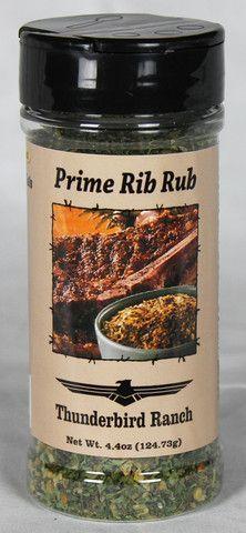 Prime Rib Rub, 5 oz. – Thunderbird Ranch Gourmet Foods