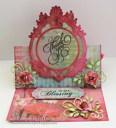 Designs by Marisa: JustRite Papercraft December Release - Grand Thank You Cling Stamps Scrapbooking, Scrapbook Cards, Pop Up Cards, Your Cards, Handmade Card Making, Spellbinders Cards, Paper Magic, Interactive Cards, Easel Cards