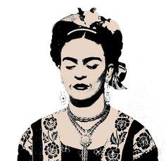 Frida Kahlo, by Hisheroisgone (kevin)