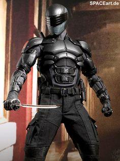 G.I. Joe - Die Abrechnung: Snake Eyes - Deluxe Figur, Fertig-Modell, http://spaceart.de/produkte/gig002.php
