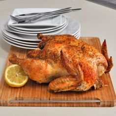 Simple and Juicy Roasted Chicken Recipe