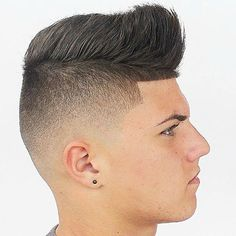 Low Skin Fade with Quiff