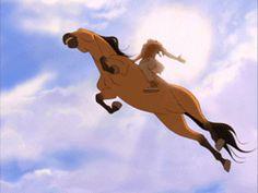 Spirit: Stallion of the Cimarron (DreamWorks animation) Spirit The Horse, Spirit And Rain, Dreamworks Animation, Disney And Dreamworks, Love Movie, I Movie, Horse Movies, Childhood Movies, Free Cartoons