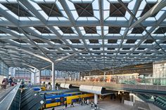 Benthem Crouwel's new station for The Hague