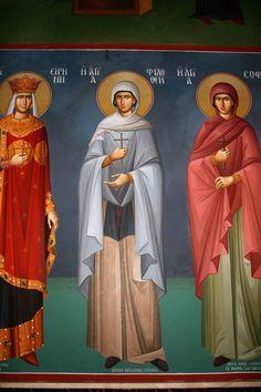 Saint Anthony Church, Church Interior Design, Byzantine Icons, Nashville Tennessee, Athens Greece, Fresco, Creative, Fresh