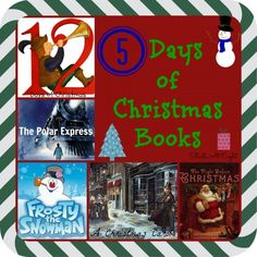5 Days of Christmas Books with Activities includes 5 different Christmas books with corresponding activities to enhance your reading experience. Christmas Movies List, 25 Days Of Christmas, Christmas Books, Diy Christmas Ornaments, Christmas Projects, Polar Express Book, Theme Days, Paper Hearts, Christmas Activities