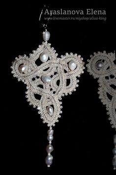 Billedresultat for kniplede smykker