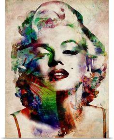 Marylin Urban Watercolor