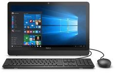 "Dell Black Inspiron 3052 All-in-One Desktop PC with Intel Pentium N3700 Processor, 4GB Memory, 19.5"" Touch Screen,… #coupons #discounts"