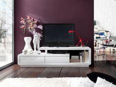 TV - Lowboard Nicole Lack - 2 Farben Lack in 2 verschiedenen Farbvarianten erhältlich 1 x Lowboard TV Kommode /  Media-TV-Element mit 2Schubkästen 2 offene...