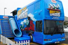 The power of experiential for toy brands | Thomas and Friends used the shell of double-decker bus to create a unique retail experience where people from across the country could take part in content and activities designed to remind them of everything they'd loved about the Thomas Character for the last 70 years.